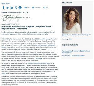 Dr. Brunner discusses neck rejuvenation options