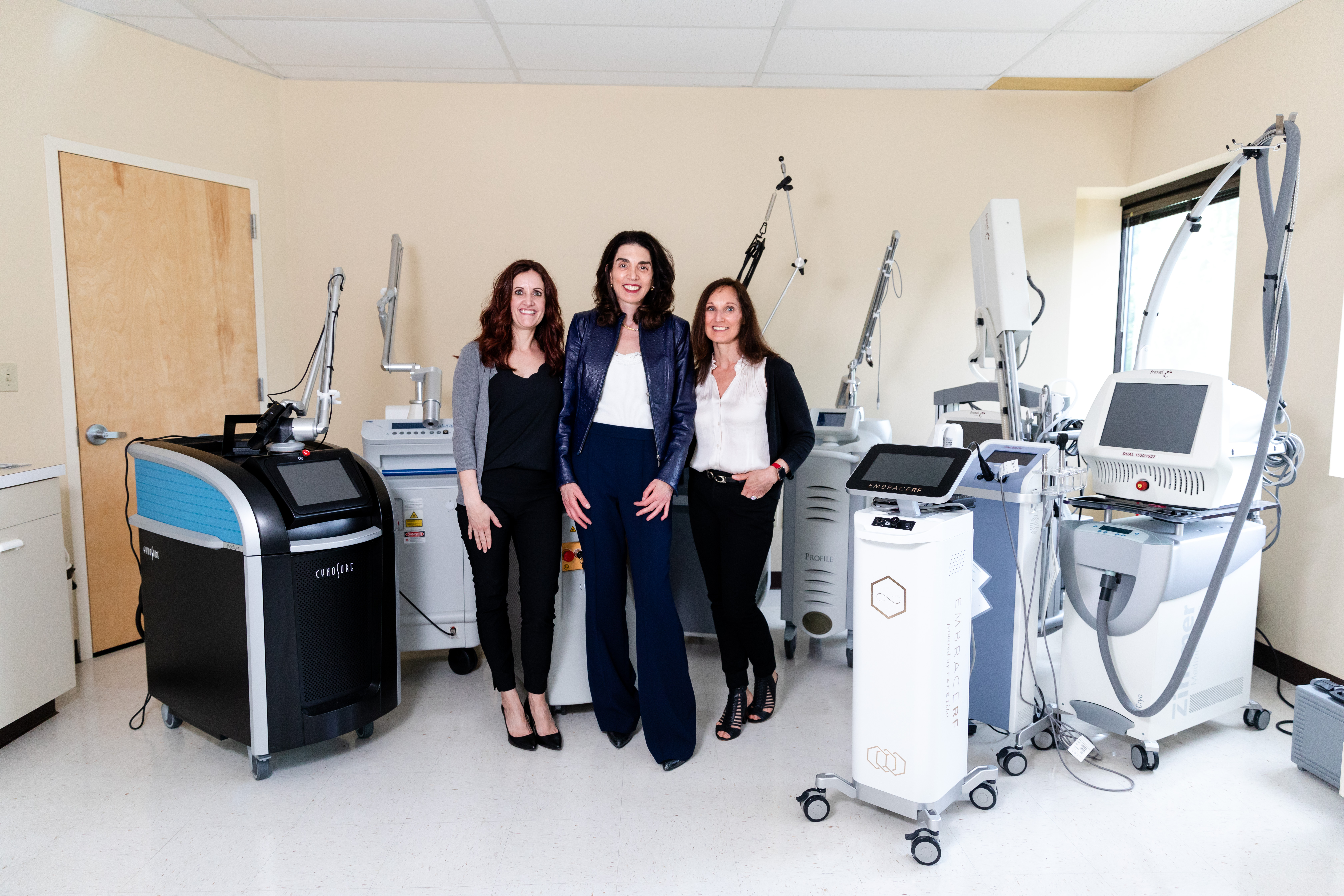Dr Eugenie Brunner and Team for Laser Hair and Tattoo Removal in Princeton, NJ