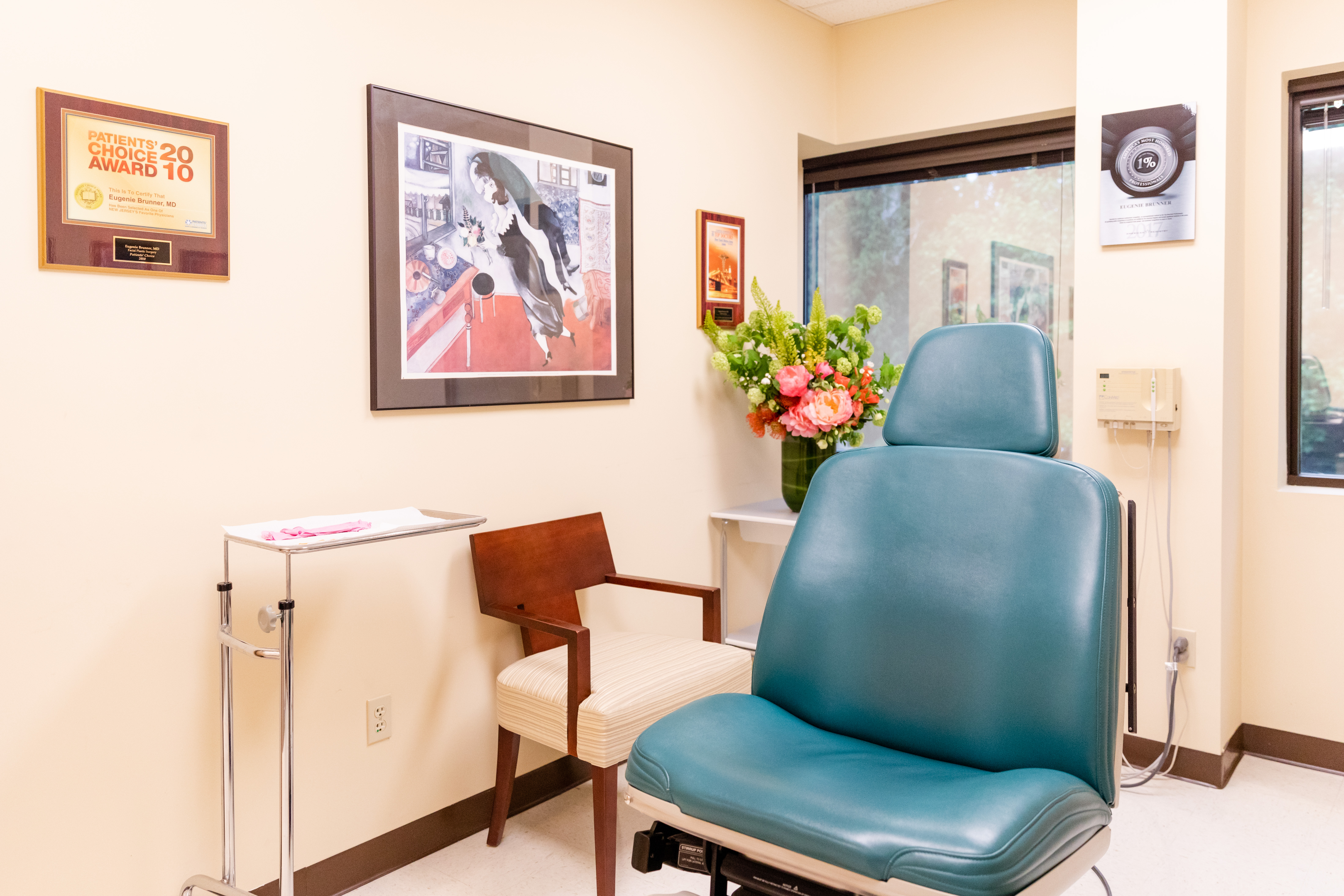 Spider Vein Removal Treatment Room Princeton NJ