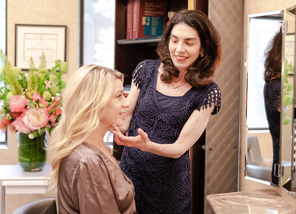 Eugenie Brunner Photofacial IPL Patient consultation Princeton NJ