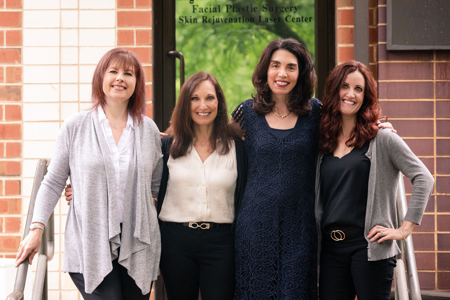 Facial plastic surgery team at Dr. Eugenie Brunner's office in Princeton, NJ