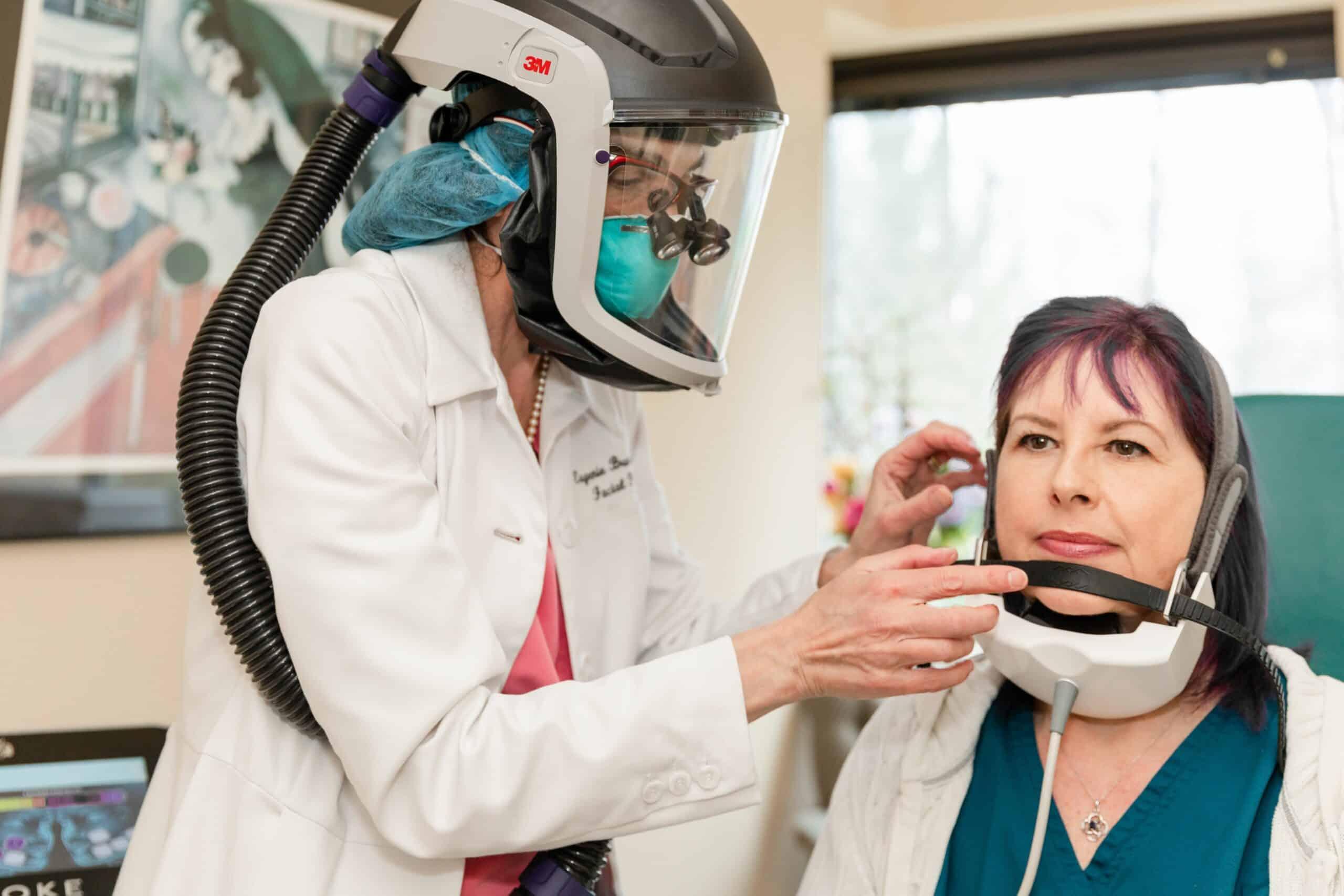 evoke facial remodeling device in princeton, nj