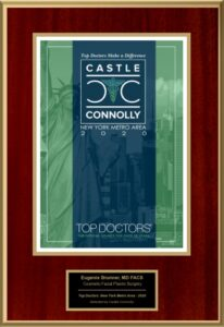 Dr. Eugenie Brunner was awarded the Castle-Connolly Award